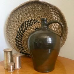 Bonbonne en Grès Vintage
