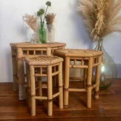 Tables Basses Gigognes Vintage