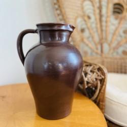Vase Pichet en Grès Vintage